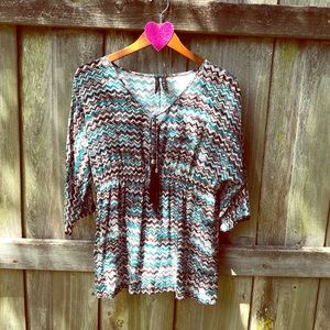 💚 Top with Tassels 💚